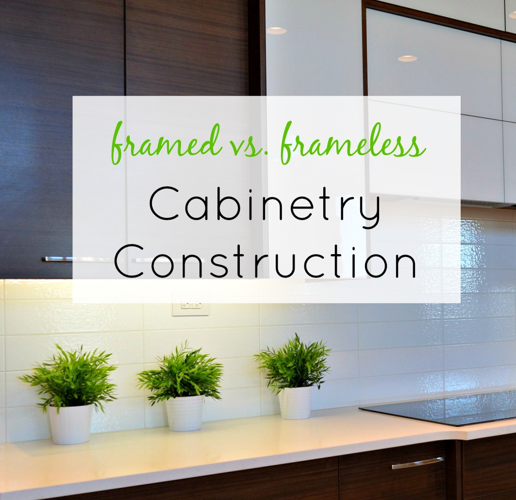 Frameless Cabinet Construction