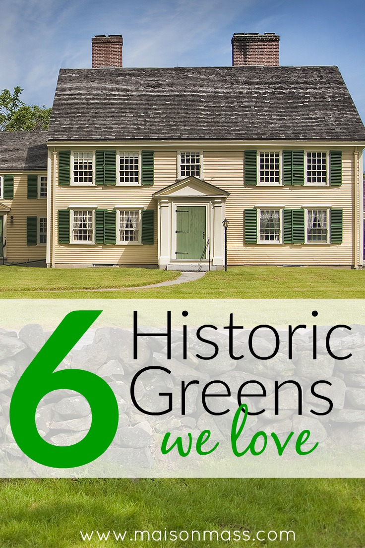 6 Historic Green Paint Colors We Love Maison Mass