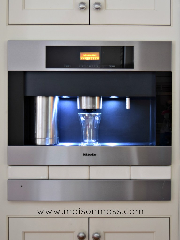 Miele built-in coffee machines