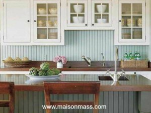 kitchen, wainscoting, backsplash, beadboard