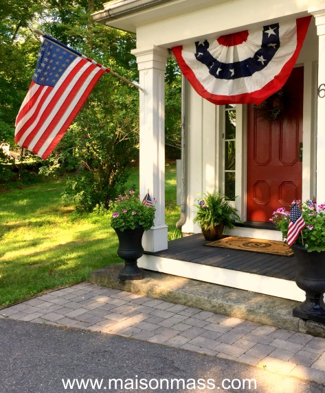patriotic decor, independence day