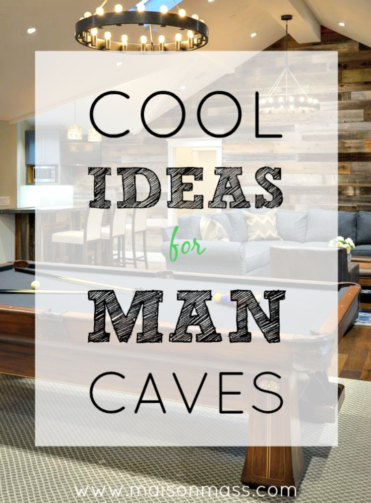 Cool Ideas for Man Caves