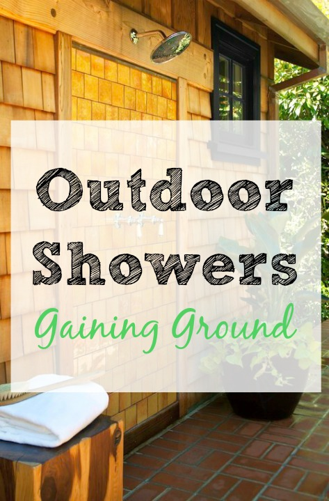 outdoor shower, outside