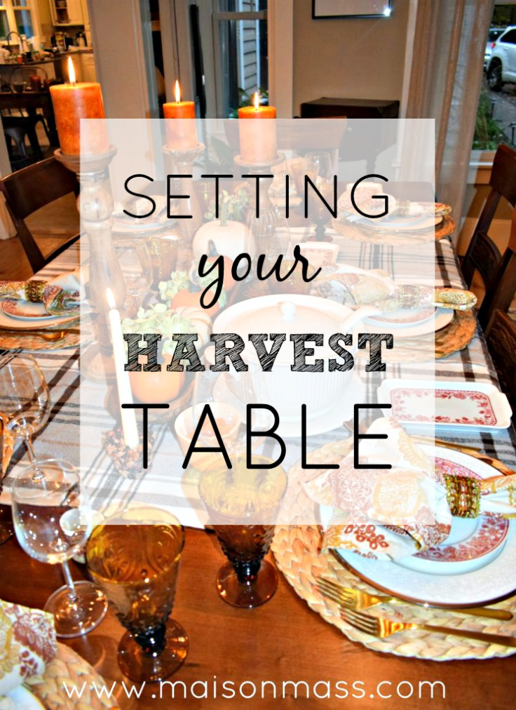 Setting Your Harvest Table