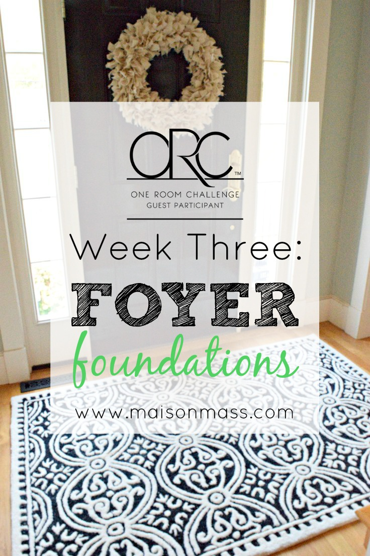 Foyer Foundations: ORC Week 3