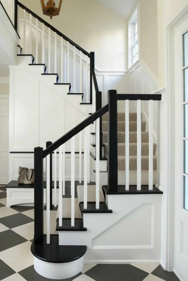 Fresh Foyer Update Stairs