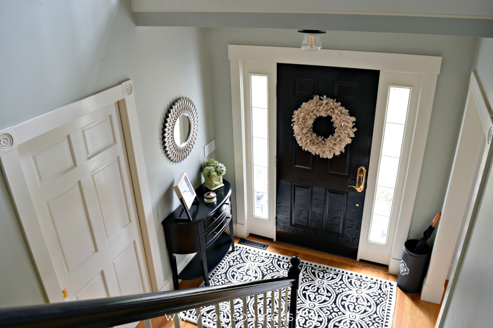 Big Foyer reveal from above