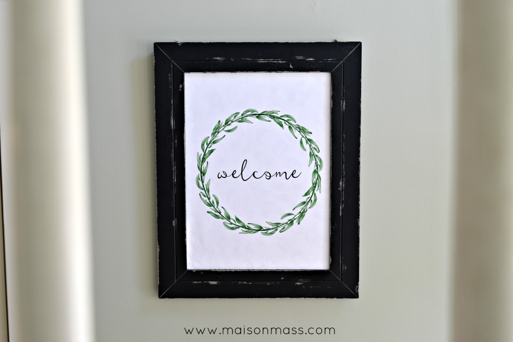 loose ends welcome print