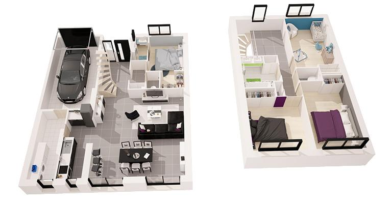 Etesien 126 M 4 Chambres Maisons De L Atlantique Constructeur De Maisons En Loire Atlantique 44