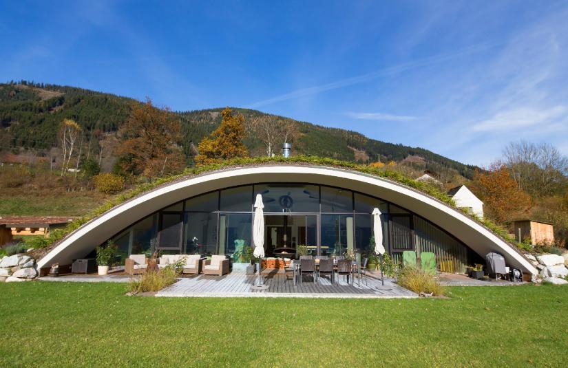 Projet Bogenhaus - Autriche - Vue de face