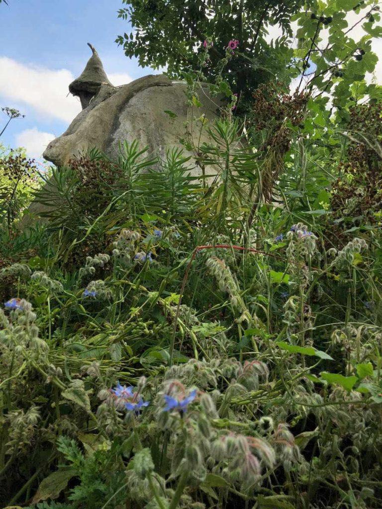 La kerterre se fond dans la végétation