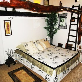 Chambre Africaine - lit 160 / 200