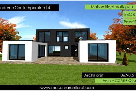 Plan De Belle Maison Moderne Gratuit Full HD MAPS Locations - Plan maison toit plat gratuit