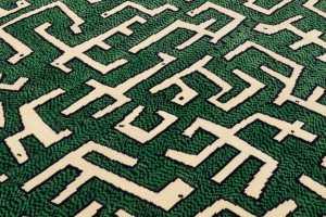 Le tapis « Ciliophora Green »