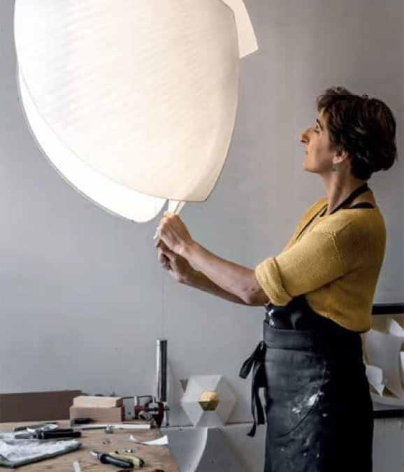 Céline Wright : Sculptures de lumière