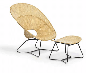 FeelGood Design : Fauteuil et footstool