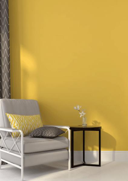 Le jaune, du soleil dans la maison