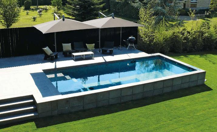 Piscine hors sol le choix de la simplicit maisons vivre magazine - Choix piscine hors sol ...