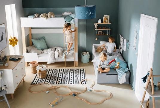 Une chambre d'enfants modulable