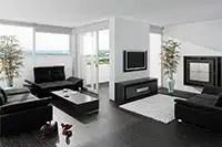 Aménagement intérieur salon - Maisons Clair Logis