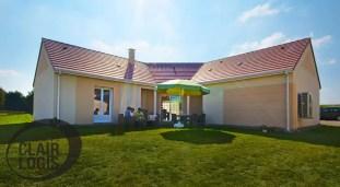 Maison en U construite en Auvergne
