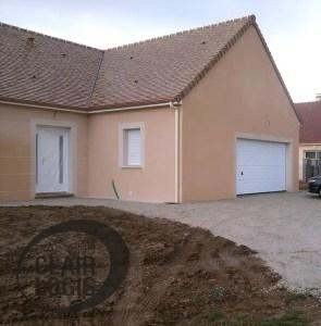 Construction maison en L