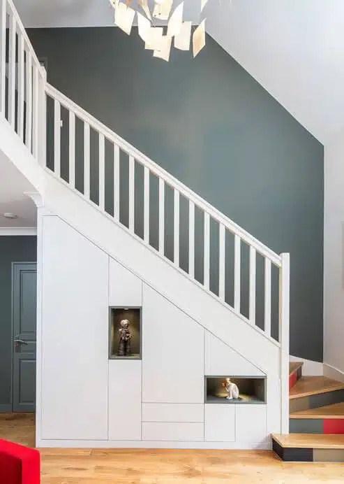 Escalier L Atout Deco De Votre Interieur Maisons Clair Logis