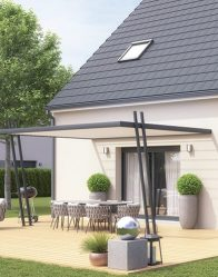Maison traditionnelle Solaro - Terrasse ombragée