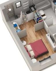 Maison à étage Street - Suite parentaleMaison à étage Street - Suite parentale
