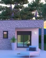 Maison neuve Onyx - Parement en pierres