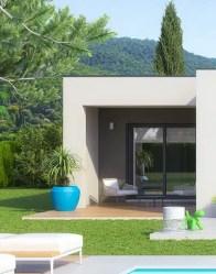 Maison contemporaine Audace - accès appartement