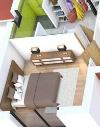 plan maison 3D - maison contemporaine Alexandrite