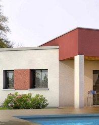 Maison à toit plat Alexandrite