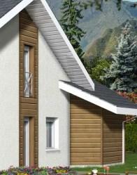 Maison contemporaine Arcalod - bardage bois