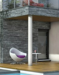 Maison contemporaine avec espace détente