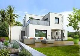 Maison contemporaine Opaline - plan maison gratuit