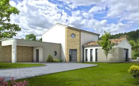 Plan maison contemporaine Spinelle