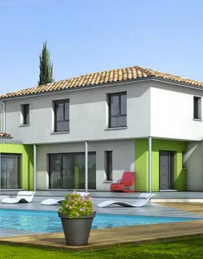 Plan Maison Contemporaine Turquoise Plan Maison Gratuit