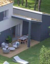 Terrasse couverte - Maison double Infinity