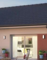 Maison individuelle Tournette - toiture moderne