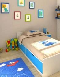 vue 3D chambre - maison traditionnelle Beaufort