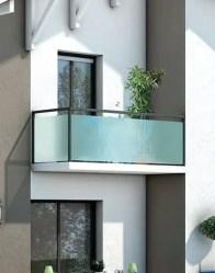 Plan maison moderne Bauges - balcon