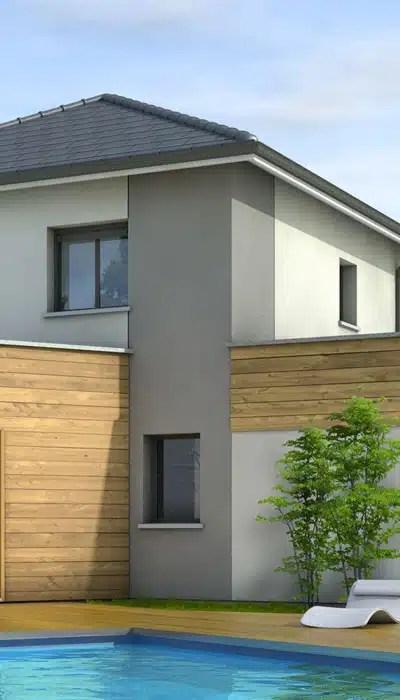 Bardage Maison Moderne. Affordable Bardage En Meleze Ajoure With