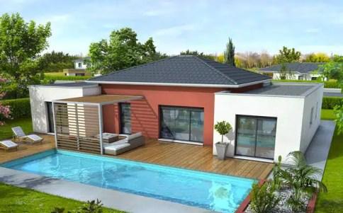 Plan maison moderne Mahé