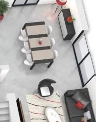 Plan maison 3D - maison familiale Mont Blanc