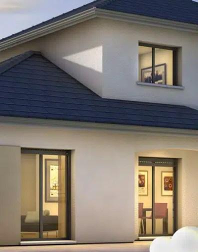 Maison moderne Semnoz - plan maison gratuit - Maisons Clair Logis