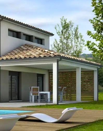 Plan Maison Moderne Tahiti Maisons Clair Logis