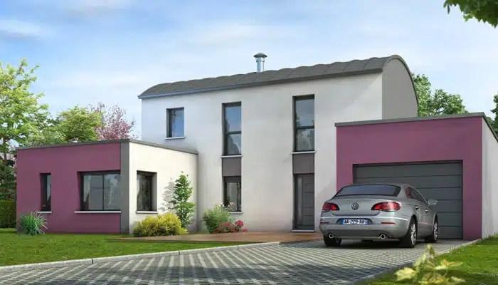 Maison modulaire Tourmaline - plan maison contemporaine