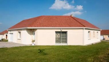 Maison neuve en U - construction Allier (03)