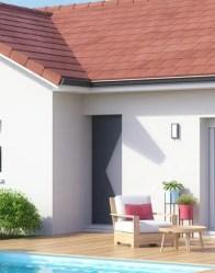 Maison plain-pied Tournette avec porte moderne
